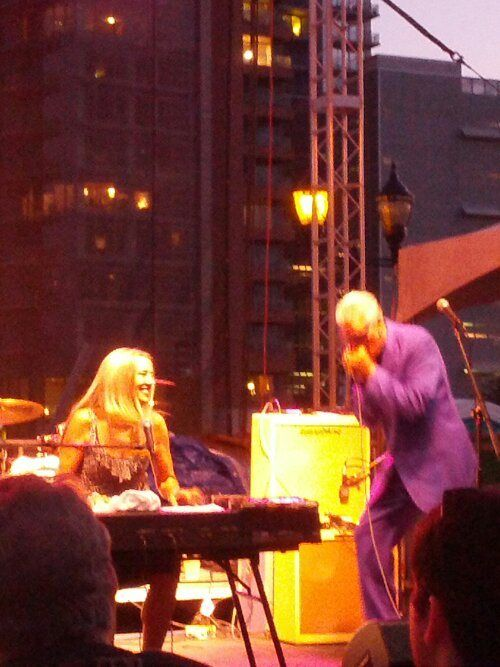 Rod and Honey Piazza at the Riverfront Blues Festival 2013