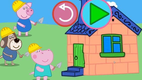 Peppa Pig en Español | Los tres cerditos  | Hippo Pepa |  Cuentos infant...