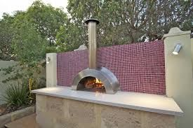 Image result for built in pizza oven and bbq