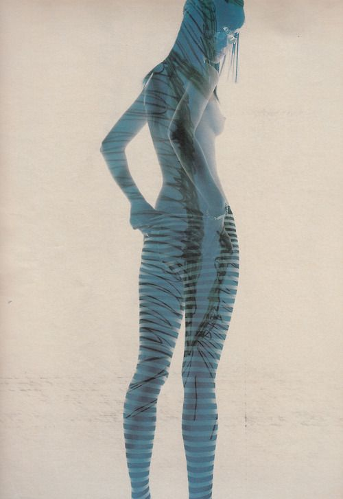 """Freewheeling"": Tasha Tilberg by Craig McDean for W February 2001"