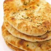 Knoflook Naan brood