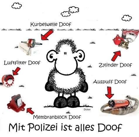mit Polizei...