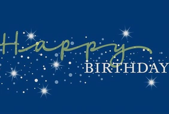 Happy Birthday - blue -  o.k. for man