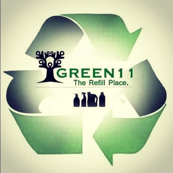 Green11. Reduce your footprint on the planet by refilling your own containers with non-toxic body care and cleaning products for your home and business.