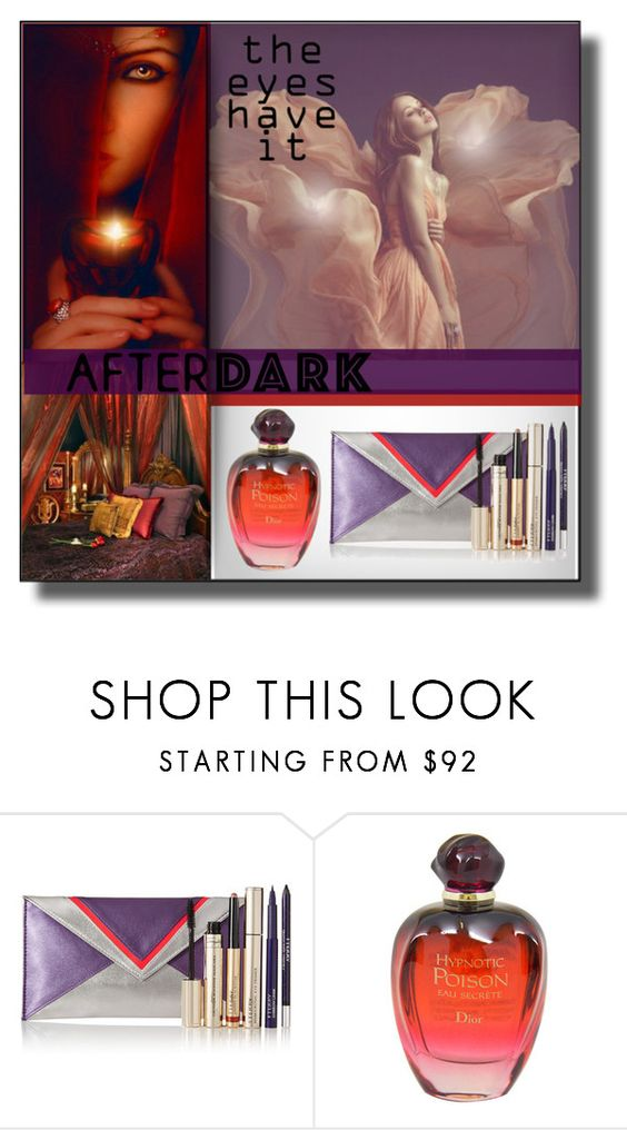 """BEAUTY AFTER DARK: Contest Entry by Lisa~Jo"" by lisajoastle ❤ liked on Polyvore featuring beauty, By Terry and Christian Dior"