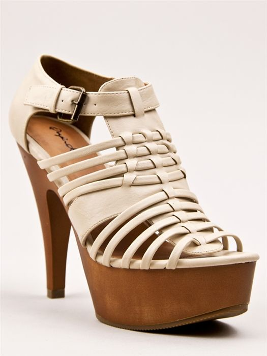 feeling to go tribal with these heels<3 $37.00