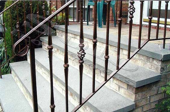 outdoor wrought iron stair railing wrought iron