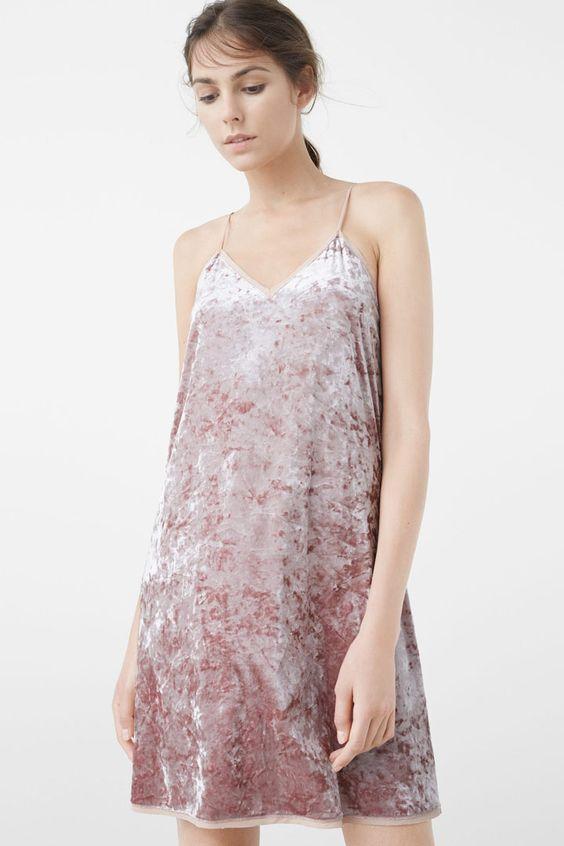 El terciopelo cubre tu ropa esta temporada - Style Lovely