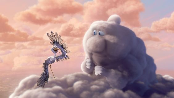 Partly Cloudy - Pixar: Pure delight.