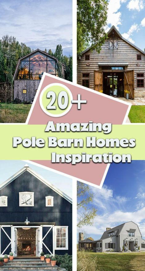 An Incredible Home Idea The Pole Barn Home Check Out These Great Details And Inspirations For This Unique Home Idea P In 2020 Pole Barn Homes Barn House Pole Barn
