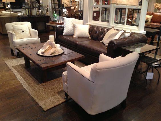 25+ Melhores Ideias De Leather Living Room Furniture No Pinterest | Quartos  Familiares Marrom, Decoração De Sofás De Couro E Sofá De Canto Marrom Part 73