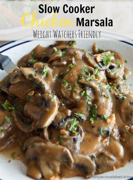 Chicken marsala, Chicken marsala recipes and Crock pot chicken on ...