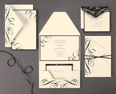 These Wedding Invitations Turned out Gorgeous when they were finished. Lots of compliments.