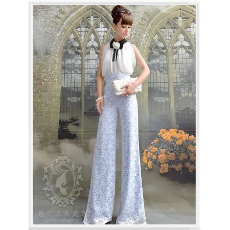 Calça Pp- Modelo Importado Pantalona Barbie Renda Elegante R$ 149.0 - Antonieta Vignnon