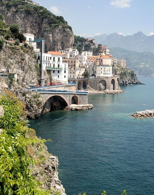 Amalfi Coast - This has to be the one place I'm most excited about seeing!