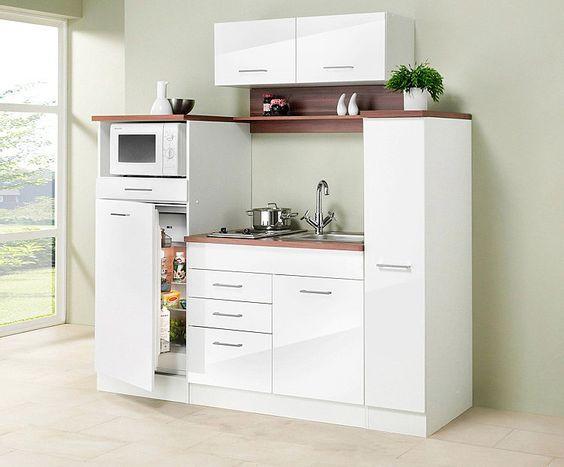 HELD MÖBEL Küchenzeile mit E-Geräten »Virginia, Breite 290 cm