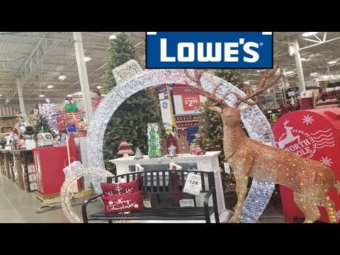 Lowe S Home Improvement Halloween Christmas Decorations