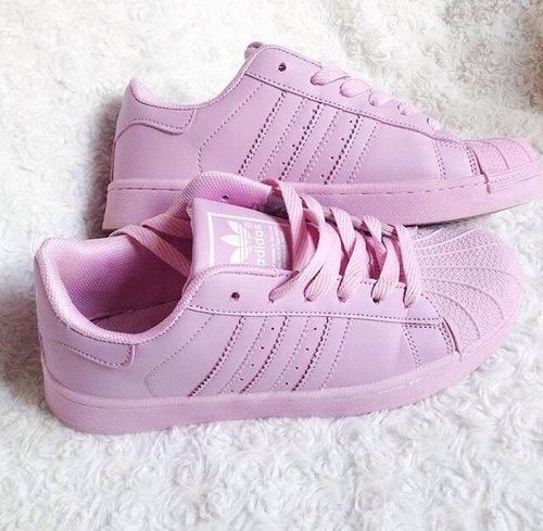 Adidas Superstar Mujer Rosas