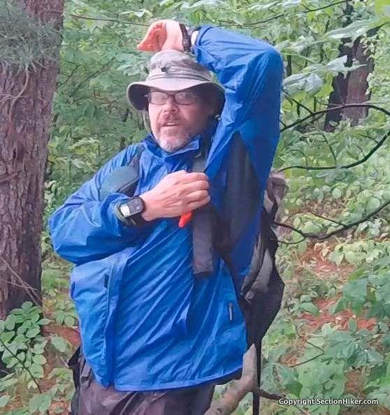 Lightheart Gear Rain Jacket Review Section Hikers Backpacking Blog Rain Jacket Jackets Rain