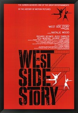 Movie Poster for one of my favorite Broadway shows. I just have to figure out how to get a cheaper frame.