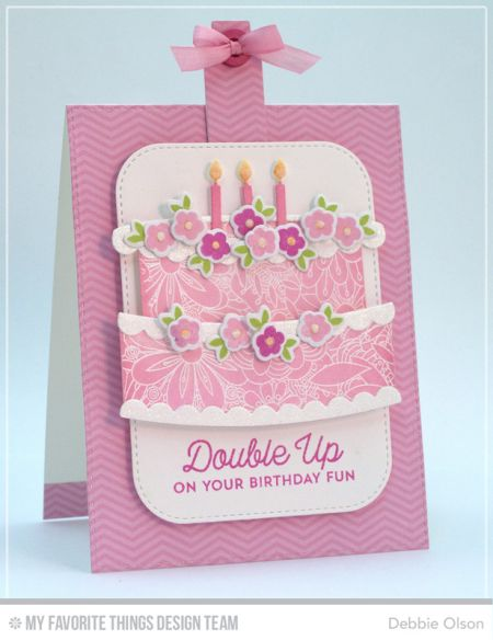 Twice the Wishes Card Kit - Debbie Olson   #mftstamps: