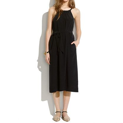 New Arrivals : Women's Dresses, Skirts, Shirts & Tops | Madewell.com silk gather dress $165.00 item A2700