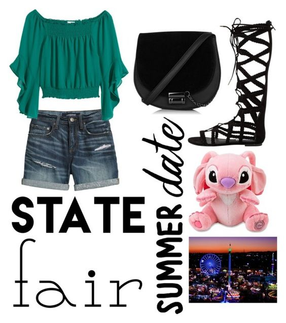 """""""State Fair"""" by vampireknight71400 on Polyvore featuring Canvas by Lands' End, Steve Madden, INC International Concepts, statefair and summerdate"""