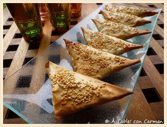 À table ! con Carmen: Samosas de Morcilla Vegetal ... Recuerdos de Jodhpur y sus Aromas