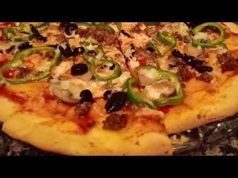 بيتزا هت Pizza Hut بعجينة خيالية هشة ومقرمشة في نفس الوقت Youtube Food Pizza Hut Vegetable Pizza