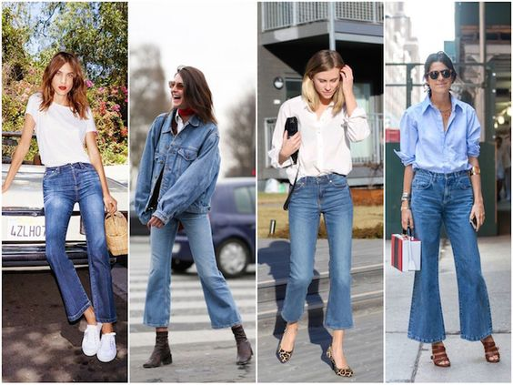 """Le nouvel icone du jean, c'est lui.  Il y a eu le """"mom"""" et le """"Flare"""", aujourd'hui, celui qui va intégrer notre dressing c'est le """"Cropped f..."""