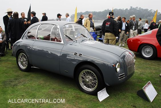 Fiat Topolino 750MM Zagato Coupe 1940