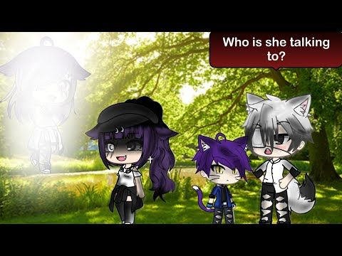 The Girl That Can See Ghosts Glmm Part 1 Ep 1 Youtube Anime Art Girl Music Video Song Anime