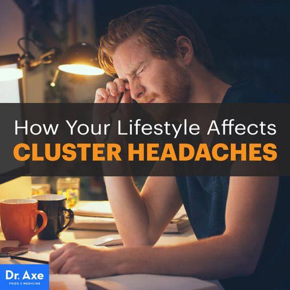 Cluster headaches - Dr. Axe http://www.draxe.com #health #holistic #natural