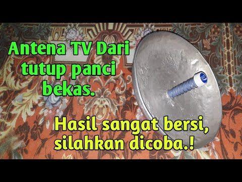 Antena Tv Dari Tutup Panci Tv Jadi Jernih Tanpa Semut Karya Roslin Tehnik Youtube Antena Teknologi Ide Pagar