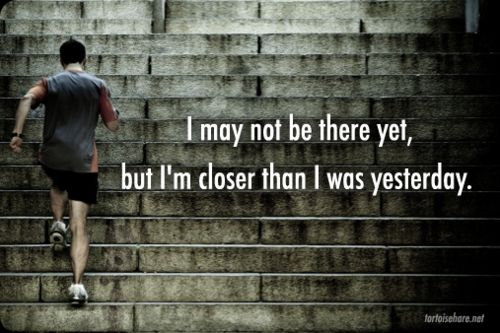 Every step counts.