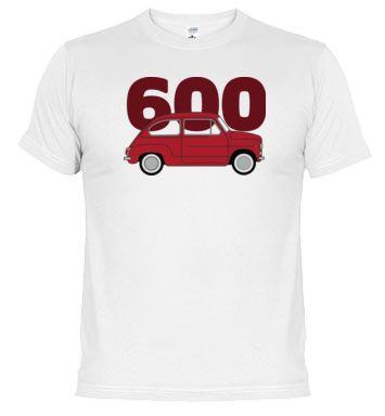 Camiseta 600 rojo