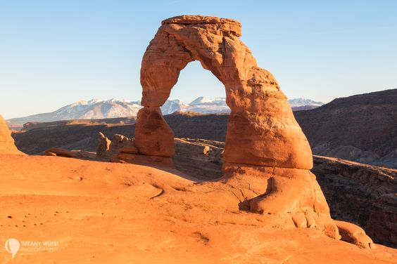 National Parks to Visit in Winter include Arches National Park.