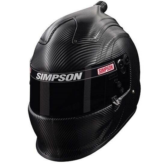Ebay Sponsored Simpson Racing Helmet Air Vudo Carbon Sa15