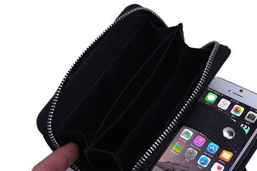 Leder Hand GeldTasche SchutzHülle mit Seil für iphone 5/5S/6/6plus, Samsung S4/5/6 - elespiel.com