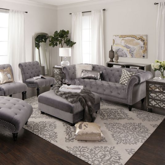 Bella Living Room Collection Jerome S Furniture Rooms Home