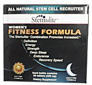 Stemulite Fitness Formula for Women 400 mg Dietary Supplement 30 tablets by Stemulite. Save 21 Off!. $47.50. -Each bottle contains 30 tablets/(400mg. Better Sleep & Restful nights. Increase Strength -Increase Muscle -Increase Energy -Increase REM Sleep -Increase Endurance -Increase Well Being -Decrease Recovery Time. High quality. All Natural Stem Cell Recruiter  A dietary supplement to support improved quality of life and physical development without steroids or steroid-like pr...