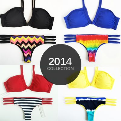 The New U-Ring Top with Reversible Brazilian-Cut Bottom <3 #khongboonswimwear FREE WORLDWIDE SHIPPING ON ALL ORDERS.