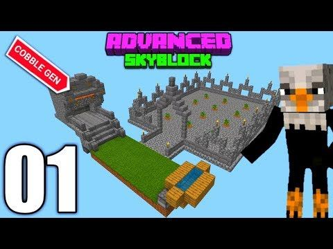 Advanced Skyblock Greatest Start Ever Minecraft Bedrock 1
