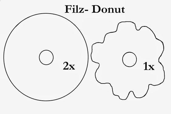 Kristallzauber: {DIY} Filz-Donut