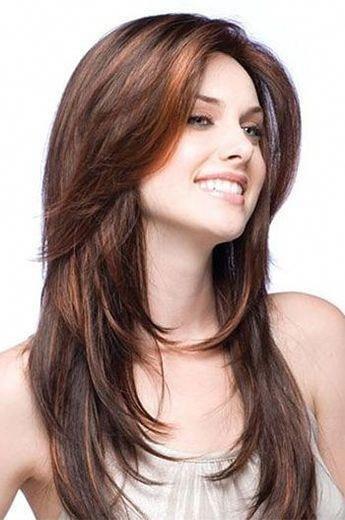 Layered Haircuts Brown Indian Human Hair Full Lace Wigs Hairplusbase Com Haircuts For Long Hair With Layers Haircuts For Long Hair Medium Length Hair Styles