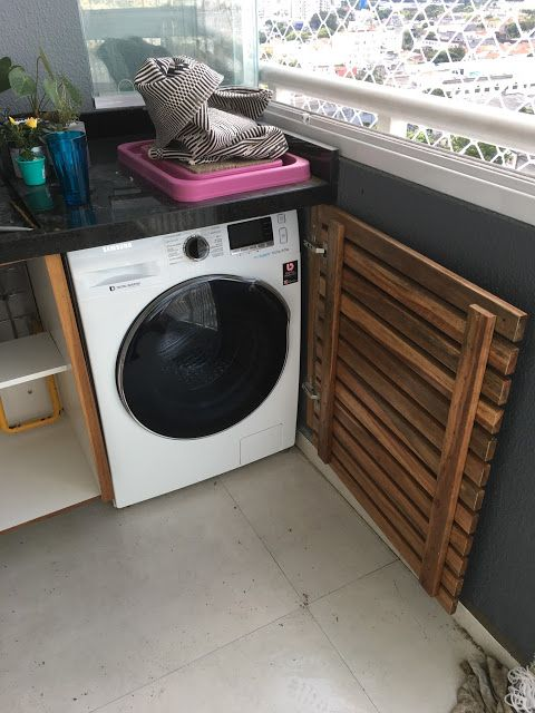 Projeto Para O Studio Da Patricia Escondendo A Maquina De Lavar
