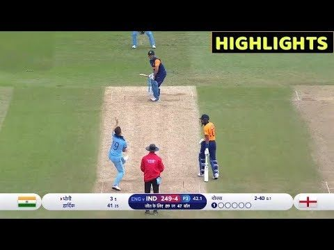 India Vs England Match World Cup 2019 Full Match Highlights Youtube Full Match Match Highlights World Cup