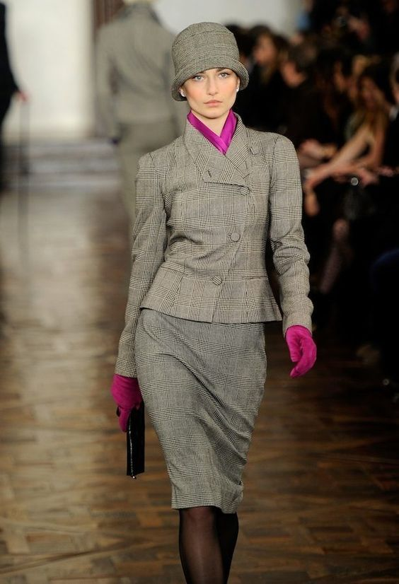 """NYFW - Ralph Lauren's """"Downtown Abbey"""" Inspired Fall 2012 Preview"""