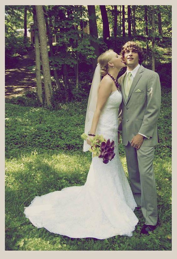 Wedding photography - rock candy photo