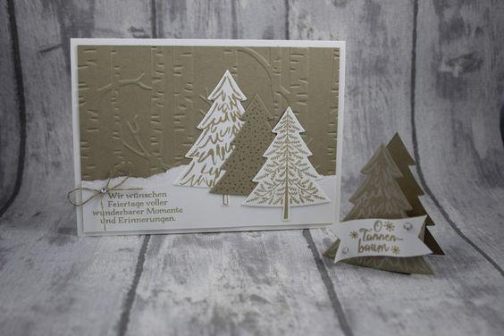 Anleitung zum kleinen Weihnachtlichen Goodie  www.stempeltasia.de